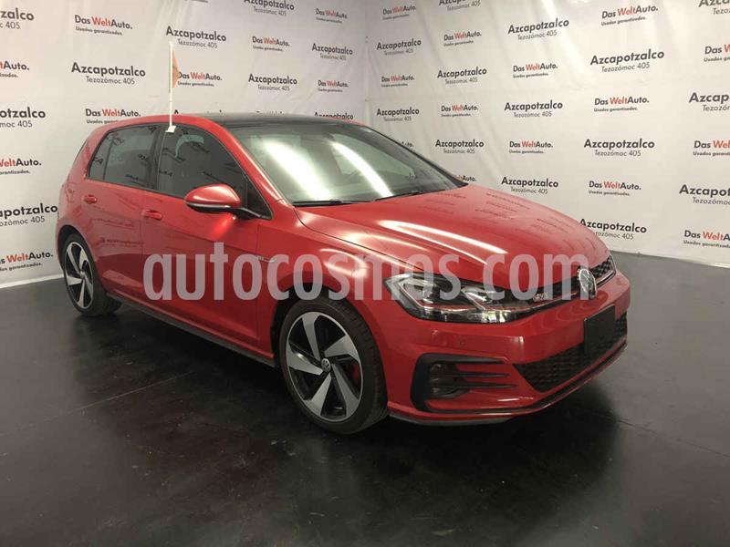 Volkswagen Golf GTi A2 2.0L usado (2019) color Rojo precio $464,990