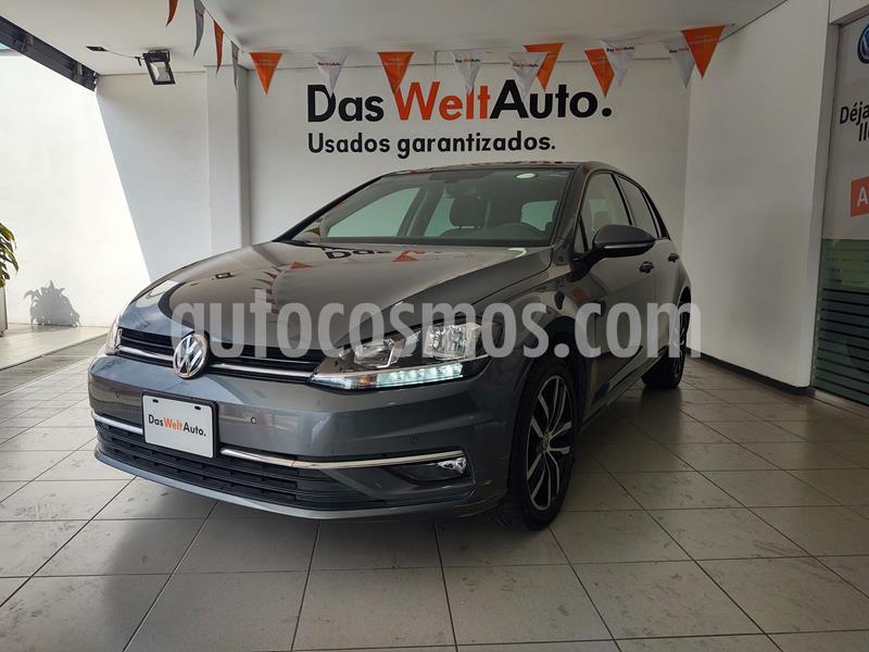 Volkswagen Golf Highline DSG usado (2019) color Gris Platino precio $379,000