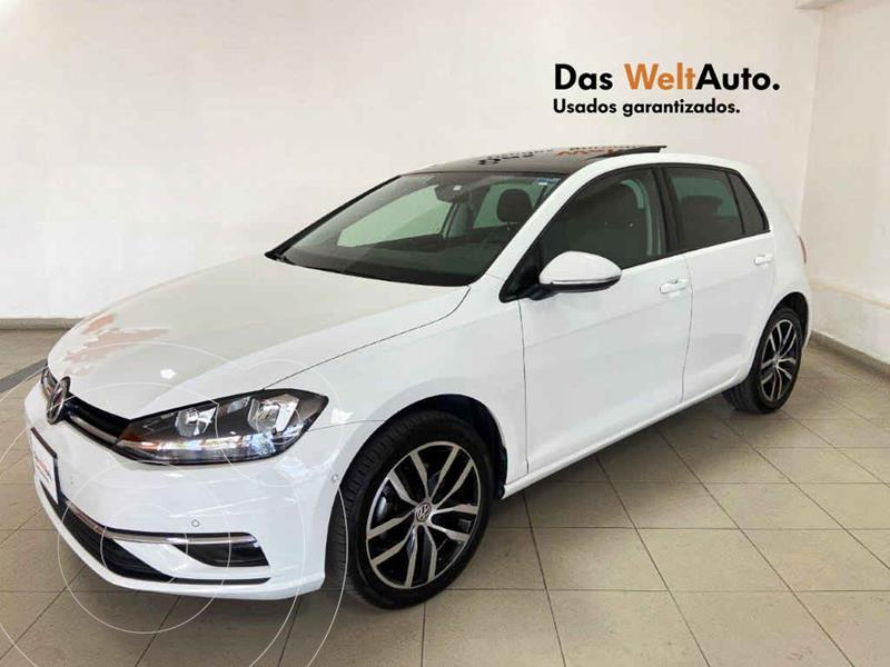 Volkswagen Golf Highline DSG usado (2019) color Blanco precio $385,657