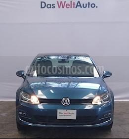 Volkswagen Golf Highline DSG usado (2017) color Azul Noche precio $309,000