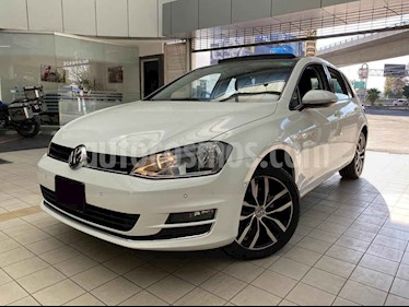 Volkswagen Golf 5p Highline L4/1.4/T Aut usado (2015) color Blanco precio $240,000