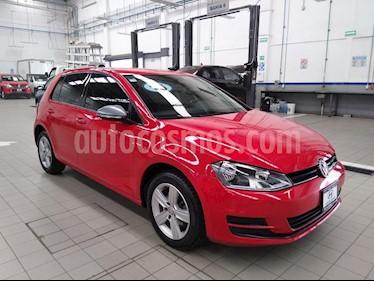 Volkswagen Golf Comfortline usado (2016) color Rojo precio $220,000