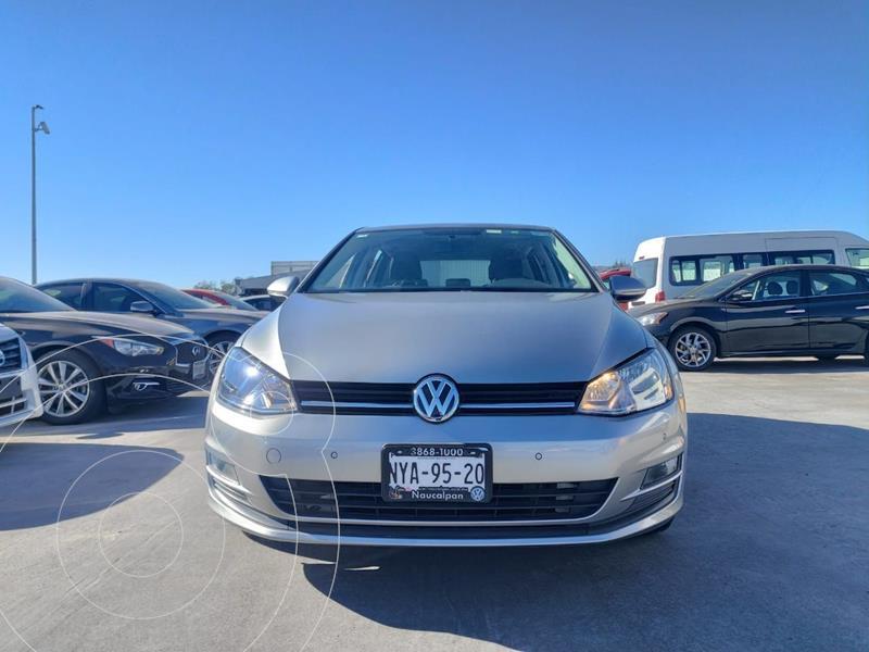 Volkswagen Golf Comfortline usado (2015) color Gris precio $199,000
