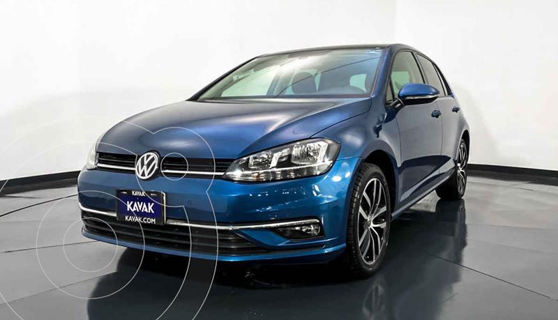 Volkswagen Golf Comfortline usado (2019) color Azul precio $357,999