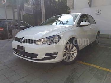 Volkswagen Golf 5p Comfortline L4/1.4/T Aut usado (2016) color Blanco precio $225,000