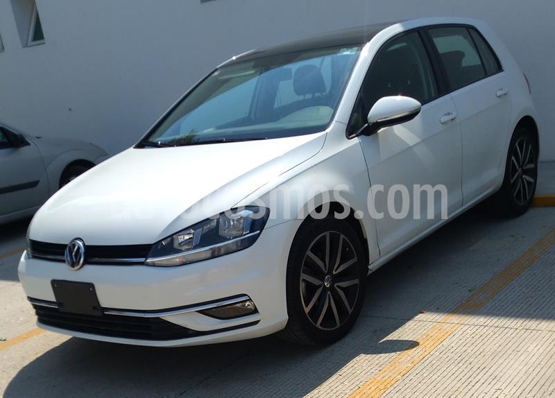 Volkswagen Golf Comfortline DSG usado (2018) color Blanco precio $305,000
