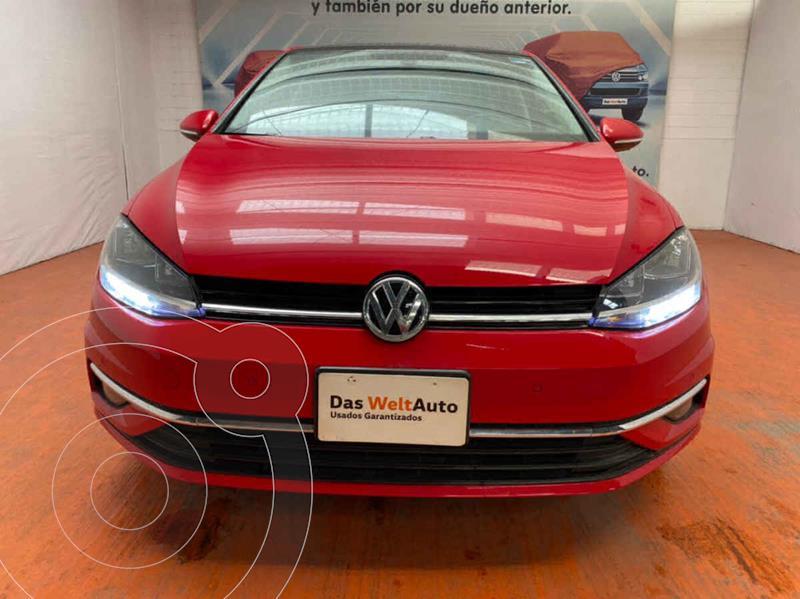 Volkswagen Golf Highline DSG usado (2019) color Rojo precio $379,000