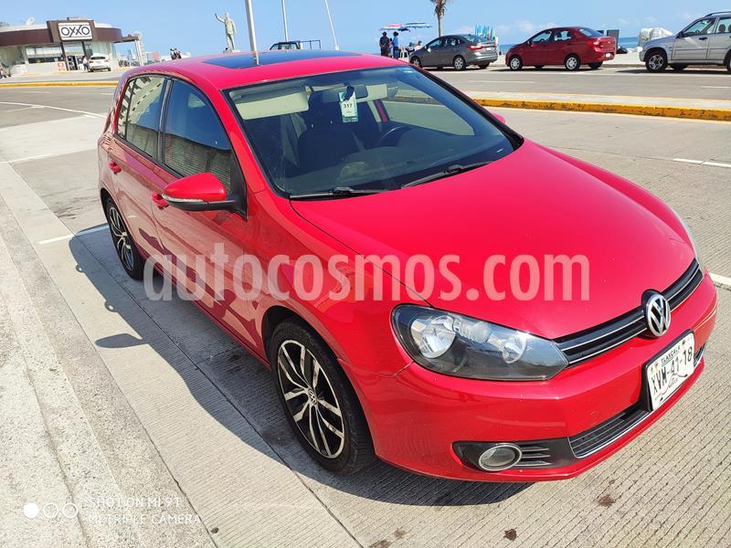 Volkswagen Golf 1.4 T usado (2013) color Rojo Tornado precio $155,000