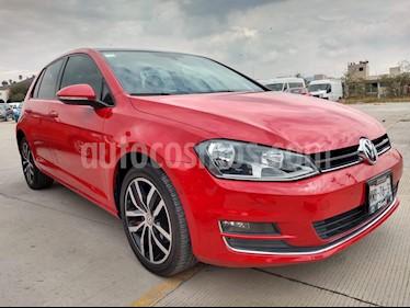 Volkswagen Golf Highline DSG usado (2016) color Rojo Tornado precio $297,000