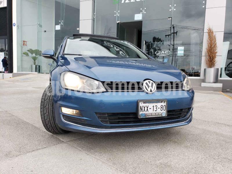 Volkswagen Golf Highline DSG usado (2015) color Azul precio $215,000