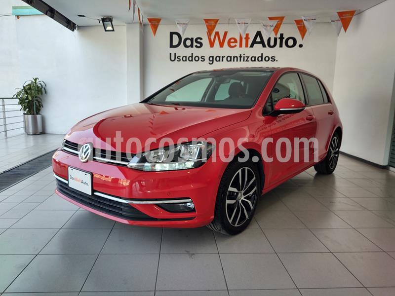 Volkswagen Golf Highline DSG usado (2019) color Rojo Tornado precio $389,000