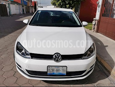 Volkswagen Golf Trendline usado (2016) color Blanco precio $220,000