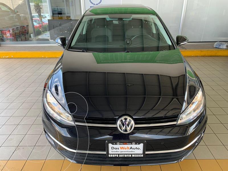 Volkswagen Golf Highline DSG usado (2019) color Negro Profundo precio $384,900