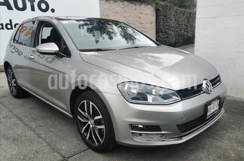 Volkswagen Golf Highline DSG usado (2015) color Plata Tungsteno precio $240,000