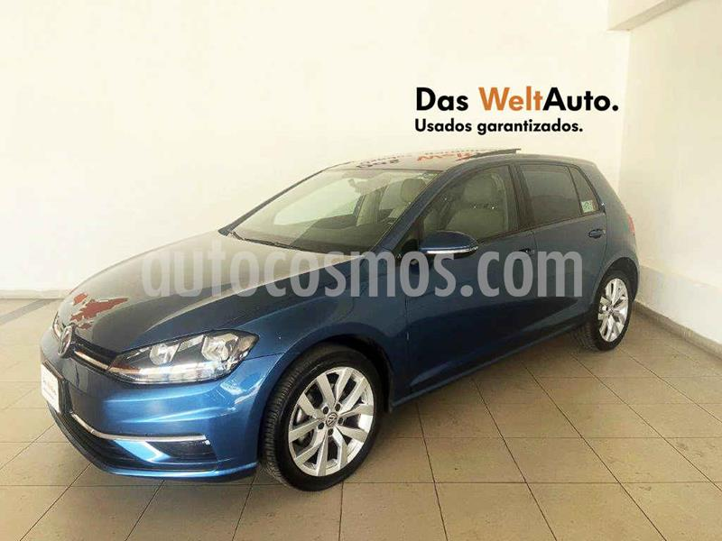 Volkswagen Golf Comfortline DSG usado (2018) color Azul precio $314,995
