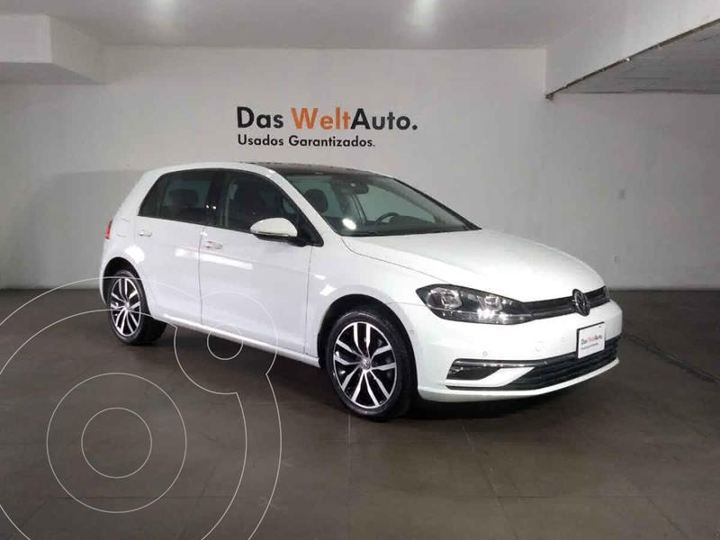 Volkswagen Golf Highline DSG usado (2019) color Blanco precio $369,000