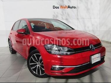 Volkswagen Golf Highline DSG usado (2019) color Rojo Tornado precio $379,000