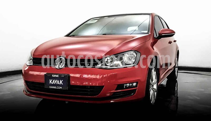 Volkswagen Golf Version usado (2016) color Rojo precio $244,999