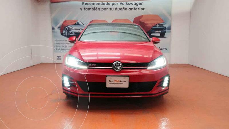 Volkswagen Golf GTi A2 2.0L usado (2019) color Rojo precio $450,000