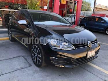 Volkswagen Golf 5p Fest L4/1.4/T Aut usado (2017) color Negro precio $265,000