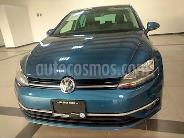 Volkswagen Golf Highline DSG usado (2019) color Azul Noche precio $375,000