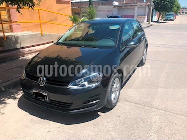 Volkswagen Golf Trendline usado (2016) color Negro precio $210,000