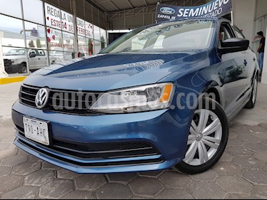 Foto venta Auto usado Volkswagen Jetta 2.0 Tiptronic (2016) color Azul precio $210,000