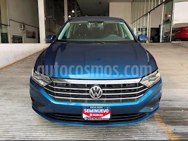 Foto venta Auto usado Volkswagen Jetta Comfortline Tiptronic (2019) color Azul precio $305,000