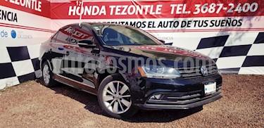 Volkswagen Jetta Comfortline usado (2017) color Negro Onix precio $240,000