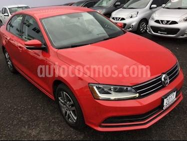 Foto venta Auto usado Volkswagen Jetta JETTA TRENDLINE STD (2017) color Rojo Tornado precio $220,000