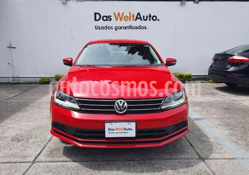 Volkswagen Jetta Trendline usado (2018) color Rojo precio $244,900