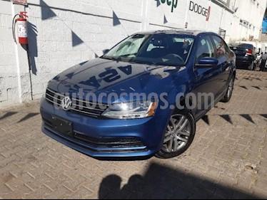 Volkswagen Jetta Trendline Tiptronic usado (2018) color Azul precio $248,000
