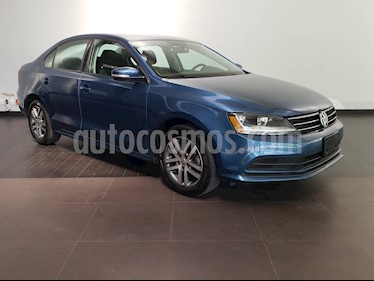 Volkswagen Jetta Trendline Tiptronic usado (2017) color Azul precio $212,900