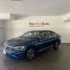 Volkswagen Jetta 4p Highline L4/1.4/T Aut usado (2019) color Azul precio $379,000