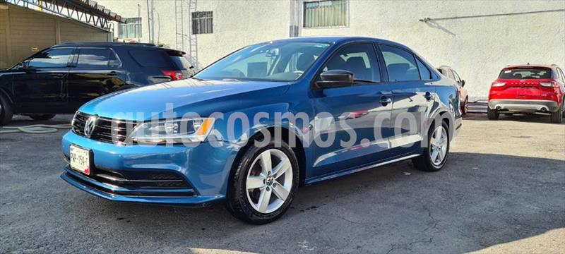Volkswagen Jetta 2.0 usado (2015) color Azul Electrico precio $169,000