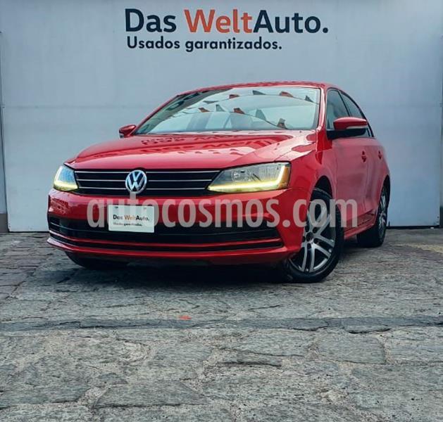 Volkswagen Jetta Trendline Tiptronic usado (2017) color Rojo precio $222,500