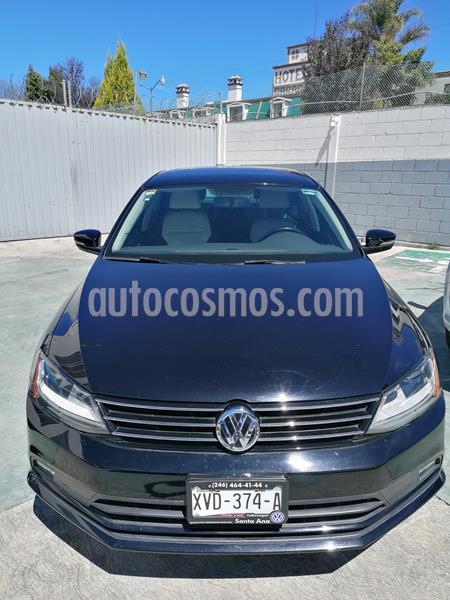 Volkswagen Jetta Sportline usado (2017) color Negro precio $250,000