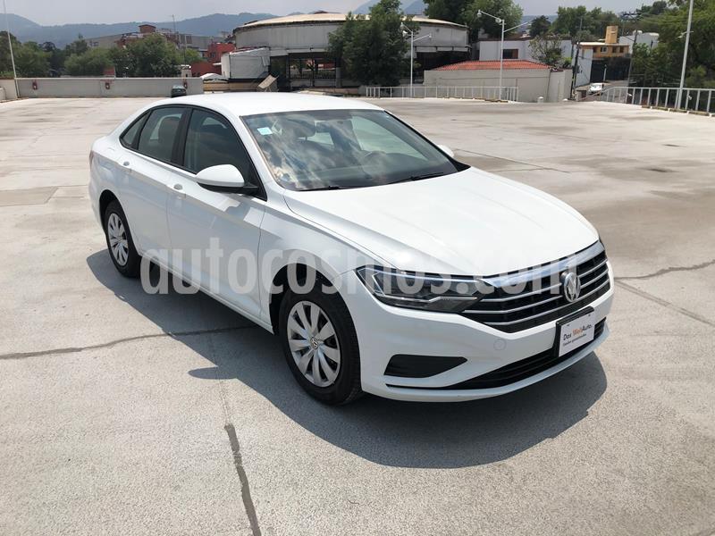 Volkswagen Jetta Trendline Tiptronic usado (2019) color Blanco precio $310,000