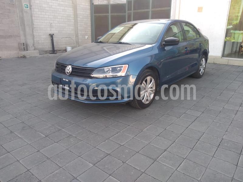 Volkswagen Jetta Trendline usado (2017) color Azul precio $199,000