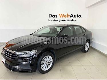 Volkswagen Jetta 4p Comfortline L4/1.4/T Aut usado (2019) color Negro precio $303,097