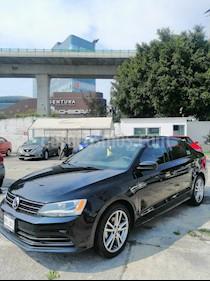 Volkswagen Jetta Trendline 2.0 Aut usado (2018) color Negro precio $218,000
