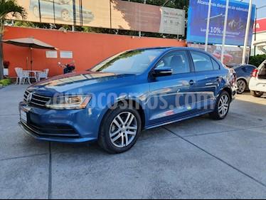 Volkswagen Jetta Trendline Tiptronic usado (2018) color Azul precio $249,900