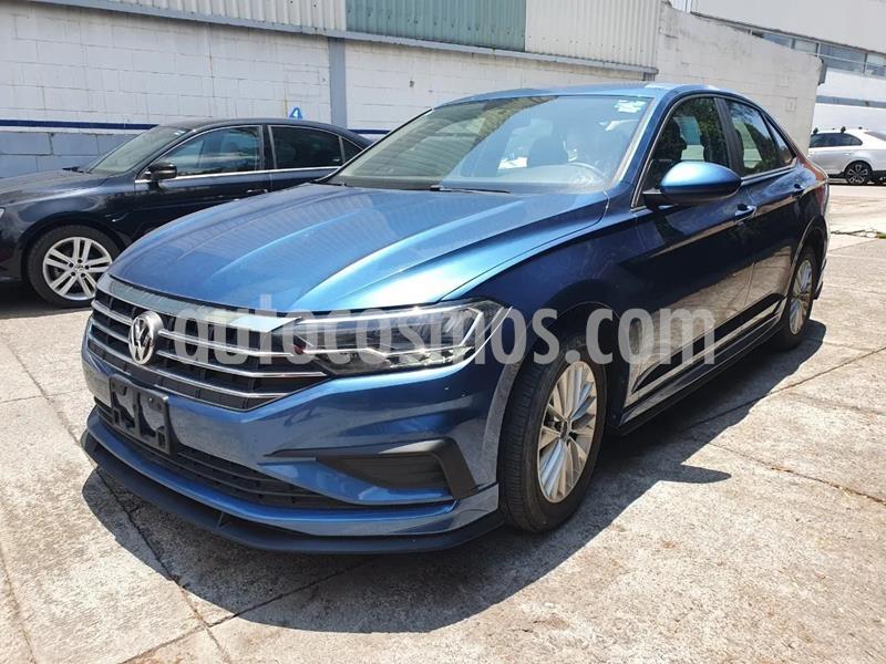 Volkswagen Jetta Comfortline usado (2019) color Azul precio $315,000