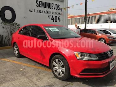 Volkswagen Jetta Trendline Tiptronic usado (2017) color Rojo Tornado precio $215,000