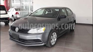 Volkswagen Jetta 4p L4/2.0 Aut usado (2018) color Gris precio $215,000