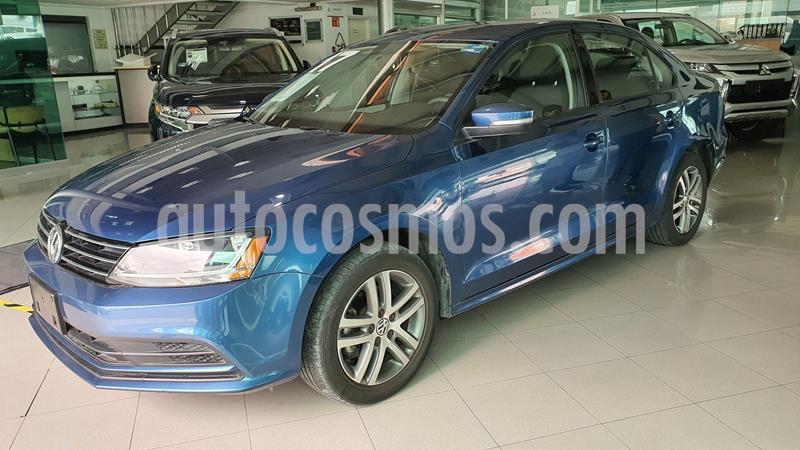 Volkswagen Jetta Trendline Tiptronic usado (2017) color Azul precio $227,000