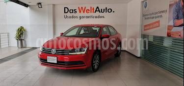 Volkswagen Jetta Trendline usado (2018) color Rojo precio $229,000
