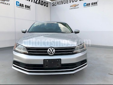 Volkswagen Jetta Trendline Tiptronic usado (2015) color Plata precio $180,000