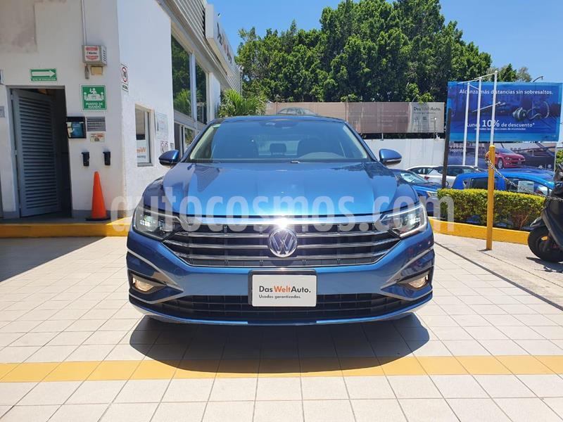 Volkswagen Jetta Highline Tiptronic usado (2019) color Azul precio $374,900