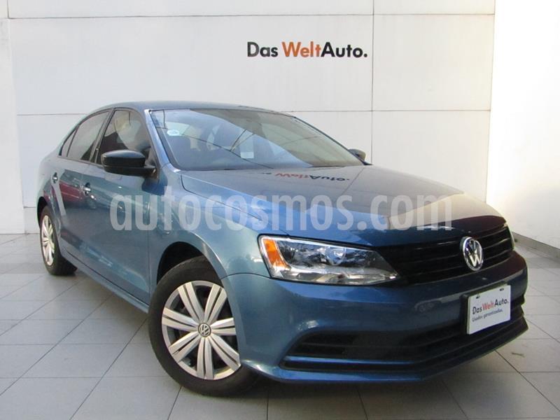 Volkswagen Jetta 2.0 usado (2018) color Azul precio $225,000